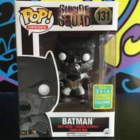 Exclusive Funko pop Official DC Movies: Suicide Squad Batman Vinyl Figure Collectible Model Toy with Original box