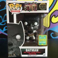 Exclusive Funko pop Official DC Movies: Suicide Squad Batman Vinyl Figure Collectible Model Toy with Original box