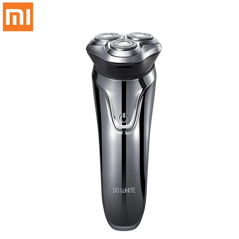 Xiaomi So White ES3 Electric Shaver for Men Mijia 3D Smart Control Beard Trimer Razor USB Charging Shaving Machine from Youpin image