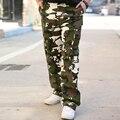 2016 Moda Pantalones de Camuflaje de Carga Hombres Pantalones Tácticos de Alta Calidad Ocasional masculina Baggy Pantalones Pantalon Homme Militar Del Ejército 9