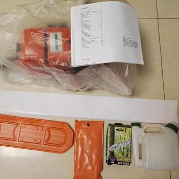 """MS660 chain saw chainsaw with 30\"""" alloy guide bar and saw chain"""