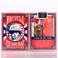 1 DECK Bicycle Escape Map Poker Playing Cards Brand New Deck Magic Tricks Magic Cards 81262