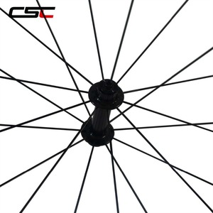 Image 5 - CSC Carbon Road Wheels 38mm 50mm 60mm 88mm Tubular Clincher Carbon Aero Wheel U Shape R13 Hub CN or SAPIM CX RAY CX RAY Spokes