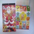 1 ШТ. Изысканный Рождественский Подарок Sticker13 * 21 СМ детских Книг Сочетание Наклейки Мультфильм Моды Экологической Безопасности Наклейки