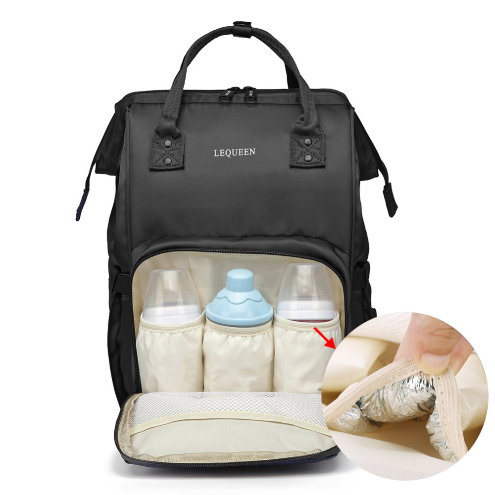 Fashion Mummy Maternity Nappy Bag New Baby Diaper Bag Large Capacity Baby Bag Travel Backpack Shoulder Care Nursing Bag in Backpacks from Luggage Bags