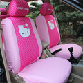 2016 Hello Kitty Seat Cushion Car Covers Four Seasons General Seating Cartoon Styling All Surrounded Interior Accessories