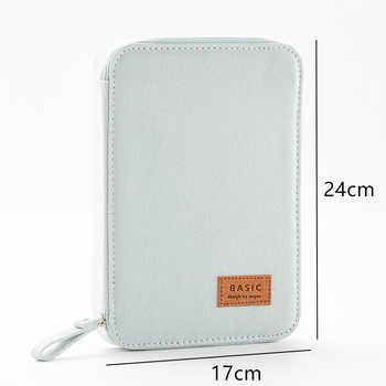 Pencil Case Multi-function Large Capacity Pen Box Storage Bag Cute Canvas Pouch Ipad Phone Passport School Office Stationery