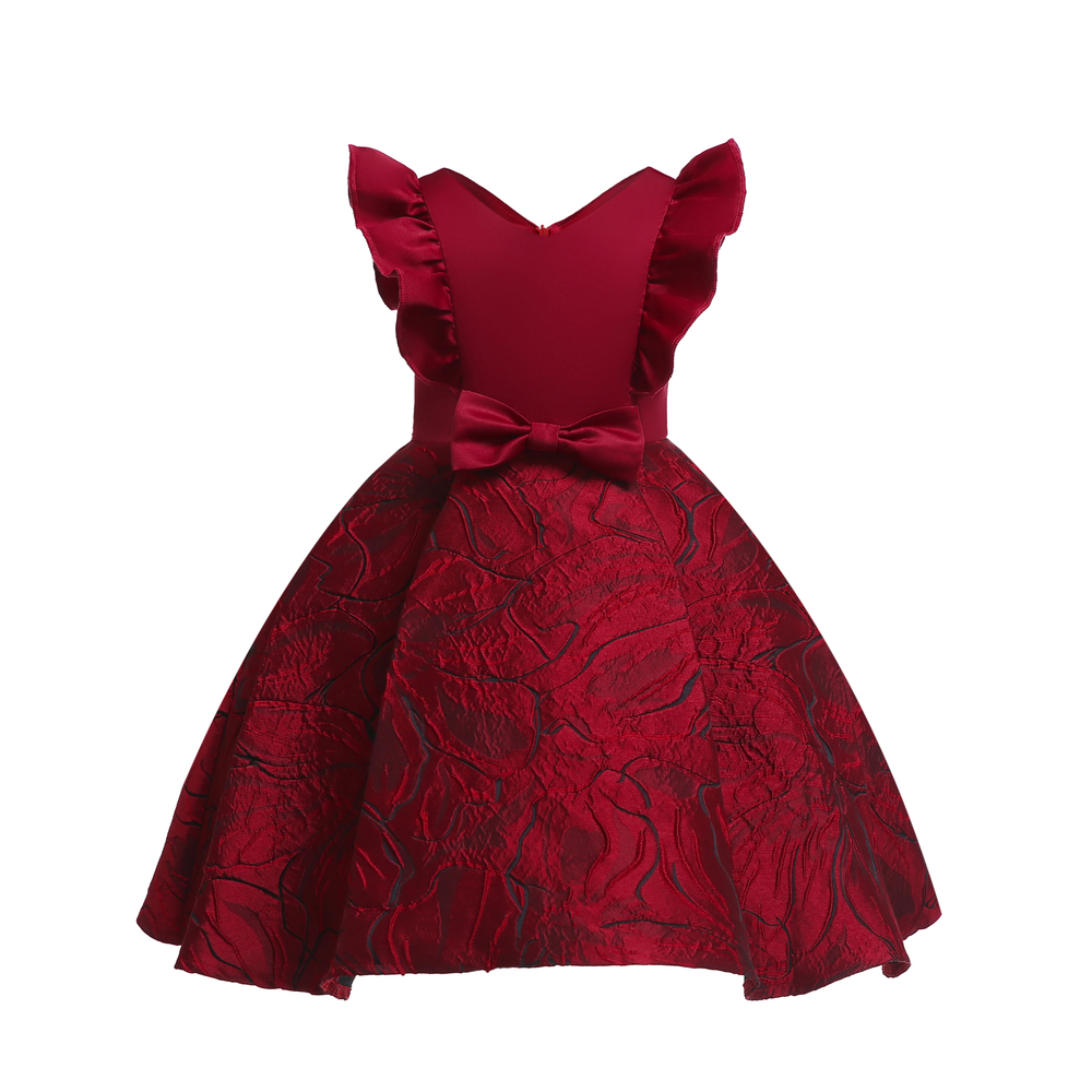 Floral Girl Dresses 2019 Summer Princess Costumes Wedding Child Clothing Ruffles Kids Dress For Girls Formal Prom Gowns 10 Years (7)