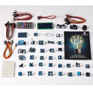 Image 2 - SunFounder 37 מודולים חיישן ערכת V2.0 עבור Arduino UNO R3 Mega2560 Mega328 ננו & MCU חינוך משתמש