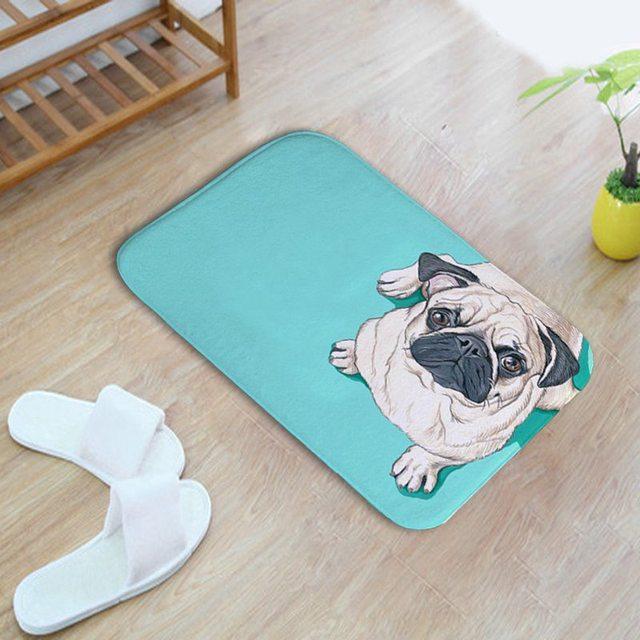 Modern Home Dekorative Bad Mat Nette Franzosisch Bulldogs Bad