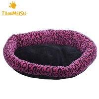 Los Mascotas Cachorro de leopardo Cama Caliente de la Casa de Productos de Artículos Para El Hogar De la Pequeña Mediana Perros Gato Resistencia Al Frío Caliente de La Venta