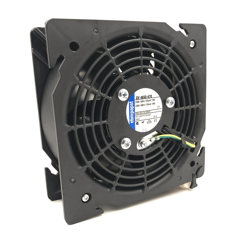 DV4650-470 Original tout nouveau PAPST ebmpapst DV 4650-470 230 V-50 HZ 110MA/120MA 18 W/19 W ventilateur de refroidissement d'armoire