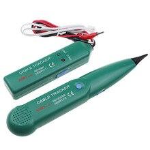 MS6812 тестер для телефонного кабеля локальной сети кабельный тестер для UTP STP Cat5 Cat6 RJ45 RJ11 линии поиск тестирование