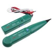 Probador de cable de red LAN de seguimiento de cable telefónico MS6812 para UTP STP Cat5 Cat6 RJ45 RJ11