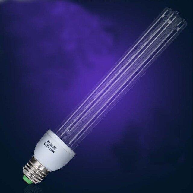 Кварцевые лампы ультрафиолетовый свет бактерицидные огни УФ лампа для дома E27 ультрафиалки терилизация лампа медицинская стерилизация 01
