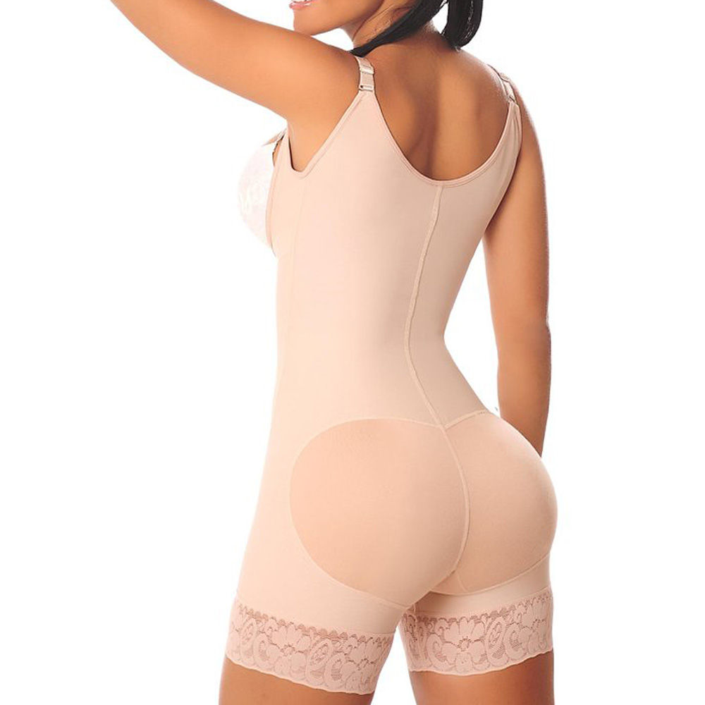 2e5016bd2be New Sexy Ladies Strap Lace Leggings Waist Trainer Women Waist Bodycon  Corset Cincher Body Shaper Bodysuit Butt Lifter Lingeries