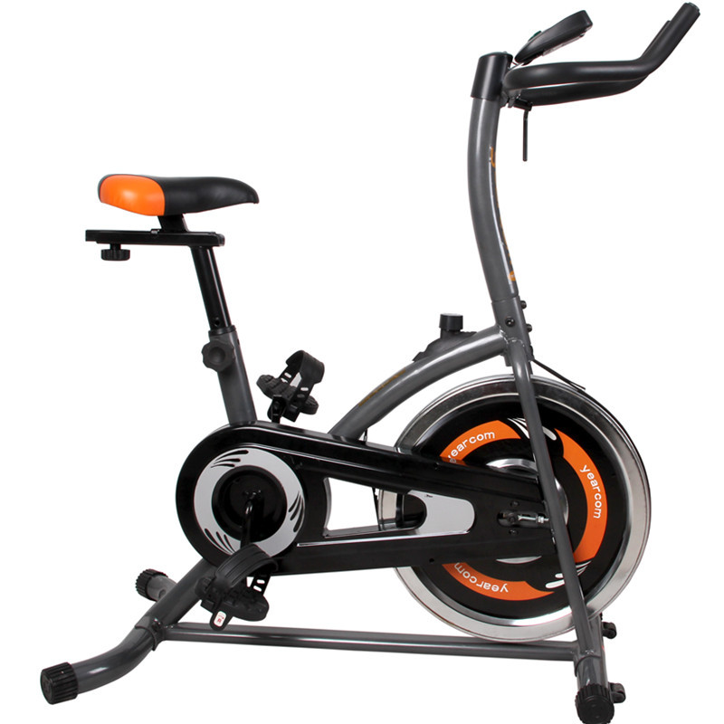 Household upright spinning /indoor cycling bike   10kg flywheel Stepless adjustment Low noise transmission system mobile roller велотренажер spinning bike dfc v10