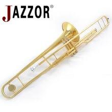 JAZZOR JYTB-E120G походные тромбон поршневые тромбон Чертежные Инструменты
