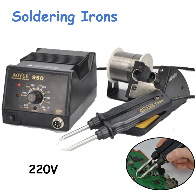 220V Hot Tweezer Repair Rework Station SMD Hot Air Electric Soldering Irons Machine 950 jbc nano rework station nase 1b 120 v nase 2b 230 v nase 9b 100 v