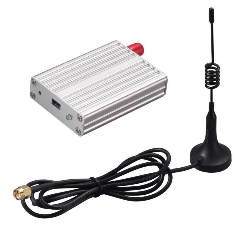 2 pcs/lot 3 km 433 mhz USB 500 mW sans fil transmetteur et récepteur RF module kit (SV653 + antenne ventouse)