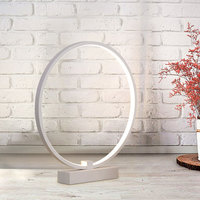 18W 24W Minimalist Acrylic Round LED Table Lamp Lampara Lighting Bedside Lampe Round Decoration For Study Desk Best Gift