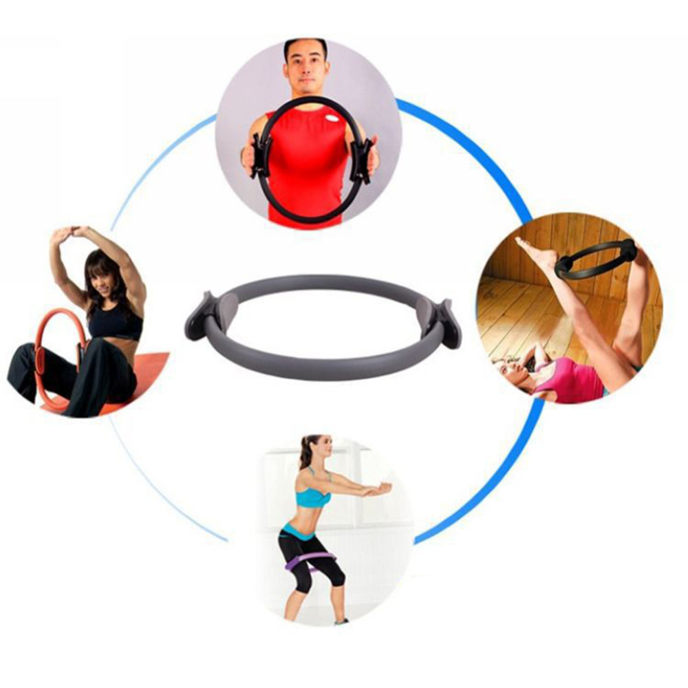 Free Shipping Exercise Sport Yoga Circle Pilate Ring Pilates Magic Fitness Accessories Women China