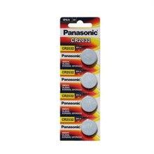 4 шт. PANASONIC CR2032 2032 3V Высокопроизводительные кнопочные батареи