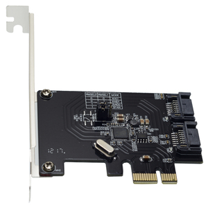 2 Port SATA 6 Gbps PCI-Express RAID Kaart RAID0 RAID1 PCIe om SATA 3.0 SSD Riser Lage Profiel beugel ASM1061