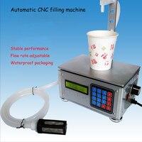 Small Automatic CNC Liquid Filling Machine Drinks Milk Quantitative Filling Sub Loading Weighing Filling Machine CSY