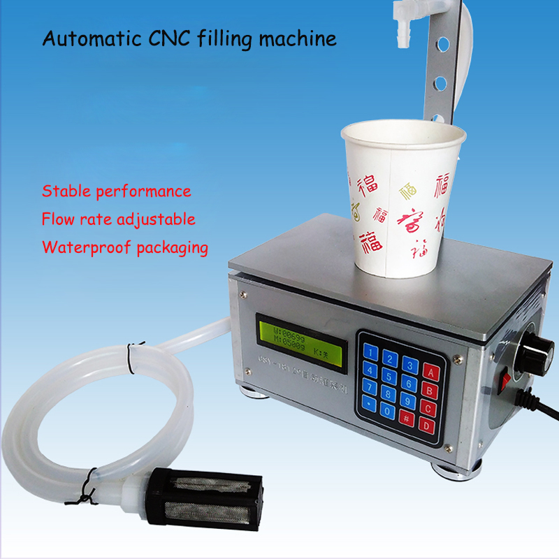 Small automatic CNC liquid filling machine drinks milk quantitative filling sub - loading weighing filling machine CSY-18129 stainless steel liquid filling machine adjustable foot quantitative perfume filling machine cfk 160