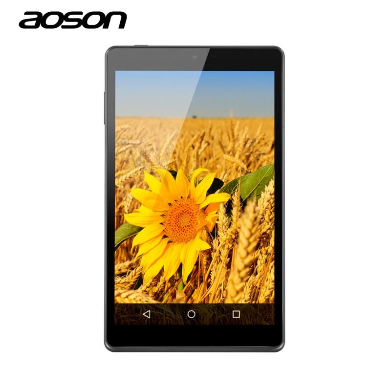 Aoson M812 Android 5.1 Lollipop 8 inch Tablet PC 1GB 16GB 1280*800 IPS Quad Core Dual Cameras 5MP Bluetooth FM MID WIFI Tablets 10 1 tablet pc android 4 4 quad core 1 5ghz 1gb 16gb wifi bluetooth tablet pc 1gb 32gb tablet pad fashion design