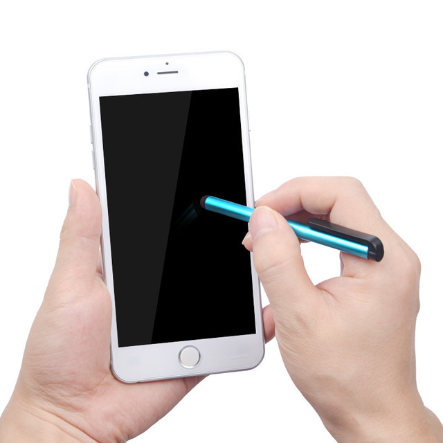 10 Pcs/lot Capacitive Touch Screen Stylus Pen for iPhone 5 4s iPad 3/2 iPod Touch Suit for Universal Smart Phone Tablet PC Pen