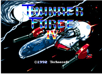 Thunder Force IV - Sega Mega Drive For Genesis 1