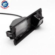 CCD HD Ночное Видение 4 светодиода специальная автомобильная камера заднего вида для Nissan March Renault Logan Renault Sandero W