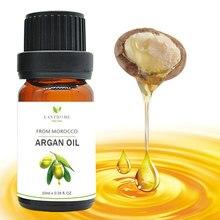 Новинка, чистое натуральное марокканское аргановое масло, повреждение сухих волос, восстановление, лечение, кератин, гладкое выпрямление волос, продукты по уходу за волосами