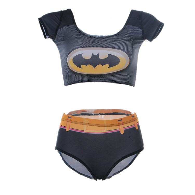 Uhren & Schmuck Have An Inquiring Mind Two-piece Suits Tankinis Young Girls Sexy High Waist Swimwear 3d Printing Batman Superman Women Swimsuit Free Shipping Dropship To Win Warm Praise From Customers