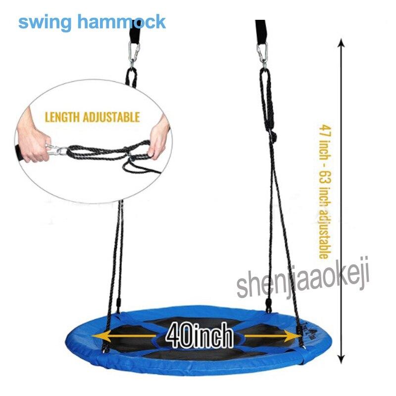 Nouveau balançoire hamac Balançoire des Enfants En Plein Air Enfant swing avec 80 kg Poids charge Arbre Swing avec la certification CE 1 pc