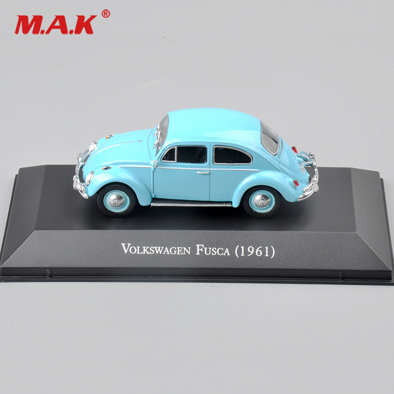 Cheap Toys Atlas 1/43 Scale Diecast Fusca 1961 Diecast Car Model Atlas mini Car Model toys Kids Toy