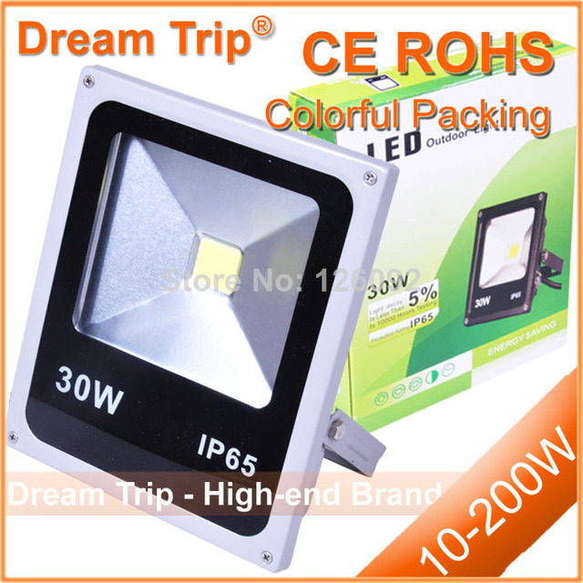 Waterproof IP65 10W 20w 30w 50w RGB high power led floodlight with IR controller,outdoor flood light for square