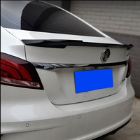 ABS Car Rear Spoiler Trunk Boot Lip Wing for MG6 Spoiler MG6 2010 2014