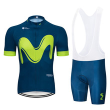 2019 Summer Green M Pro Item Cycling jersey Bicycle Clothing Maillot Ropa Ciclismo MTB Bike Clothes Sportswear Suit