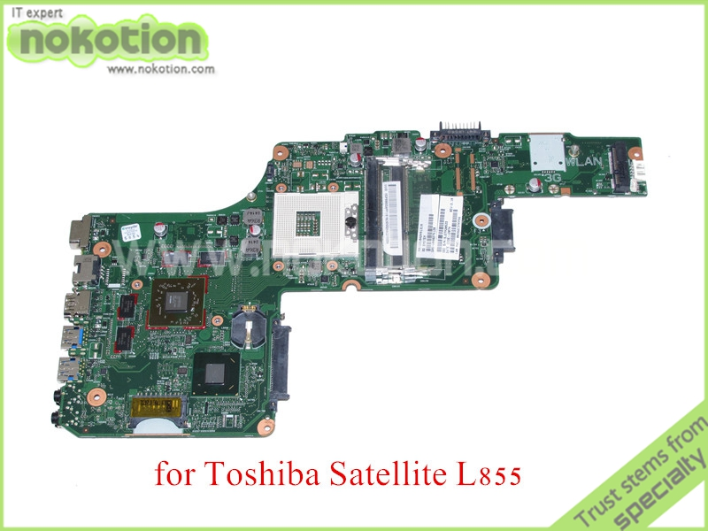 NOKOTION 6050A2491301 1310A2491319 SPS V000275120 For toshiba satellite L855 Laptop motherboard HD4000+<font><b>HD</b></font> <font><b>7670M</b></font> Graphics image