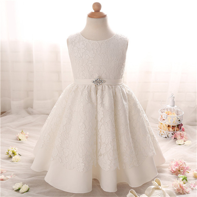 Newborn Baby Dress For Baptism Clothes Girls Lace Crochet