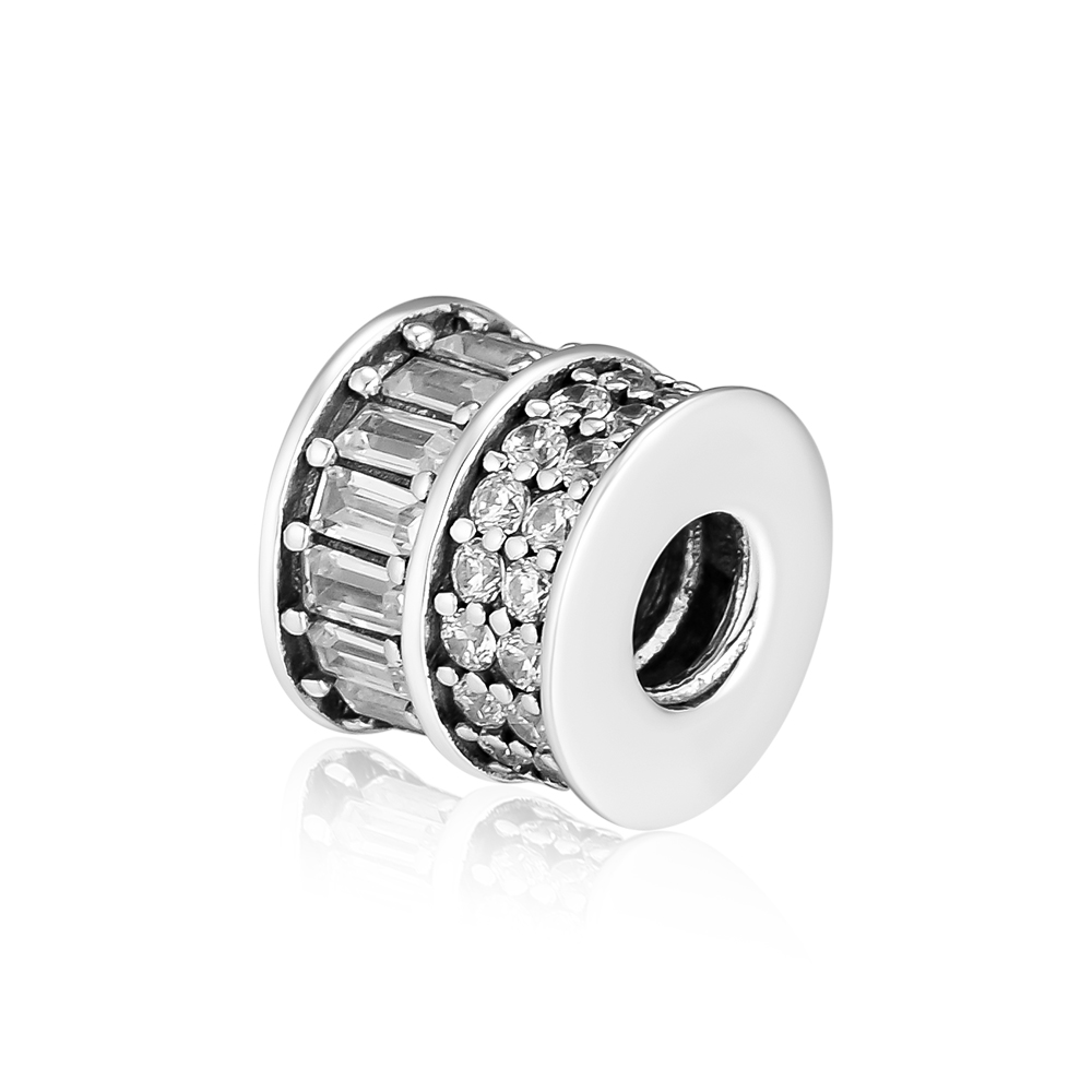 CKK Bead Spinning Charm 925 Sterling Silver Beads Fit Pandora Charms Bracelet Silver 925 Original Jewelry Women Gift Kralen in Beads from Jewelry Accessories