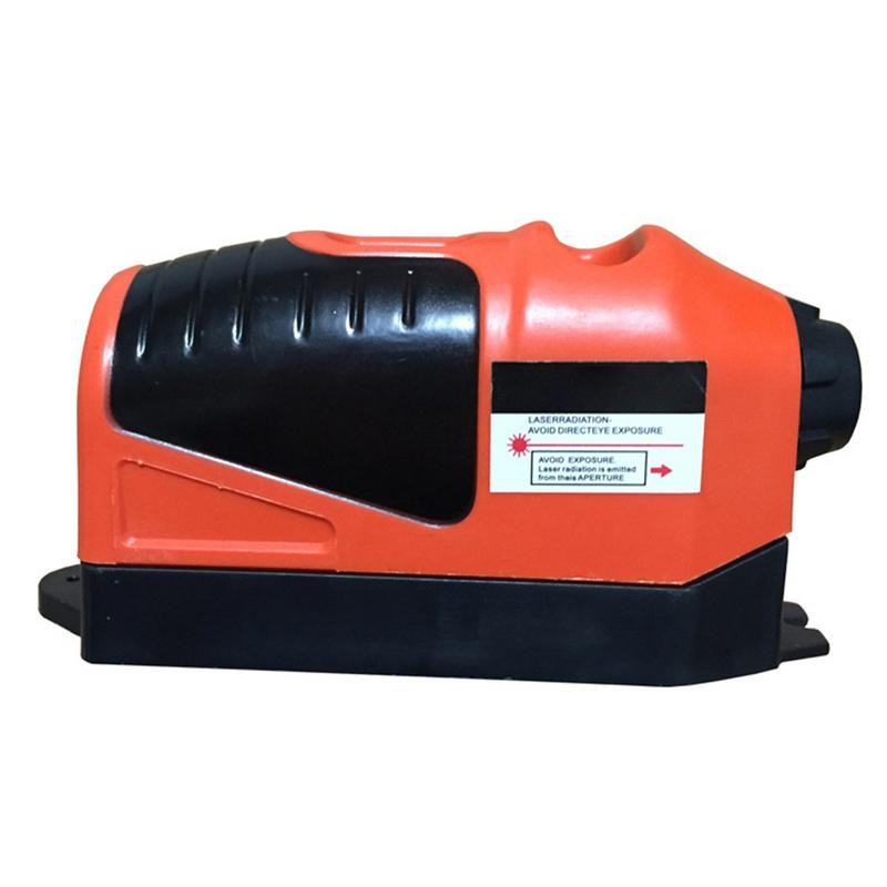 Medidor de nivel láser infrarrojo portátil multifuncional instrumento de electrodo de tierra de medición láser lineal con herramientas manuales de burbujas