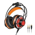 Sound Intone Gaming Headphones with Mic Wired Vibration light emitting Edition LED Bass Stereo Headset for PC Laptop Computer