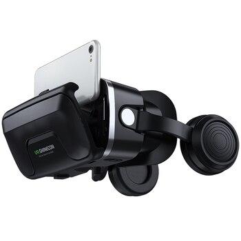 VR Shinecon 10.0 Casque Helmet 3D Glasses Virtual Reality Headset For Smartphone Smart Phone Goggles Video Game Viar Binoculars 6