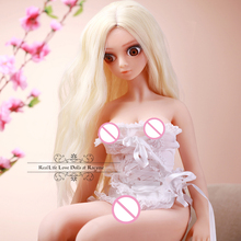 Real Silicone Sex Dolls 68cm Japanese Realistic Solid Silicone Love Doll with Metal Skeleton Adult Vagina Anal Sex Toys for Man