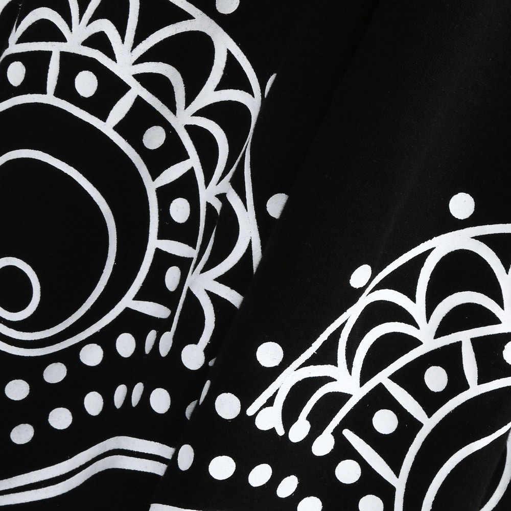 Phụ Nữ Mùa Hè Plus Kích Thước Vestidos 2019 V Quấn Cổ Voan Nữ Tay Ngắn Lớn Đầm Midi Áo Đi Biển Sundress Đầm Vestido