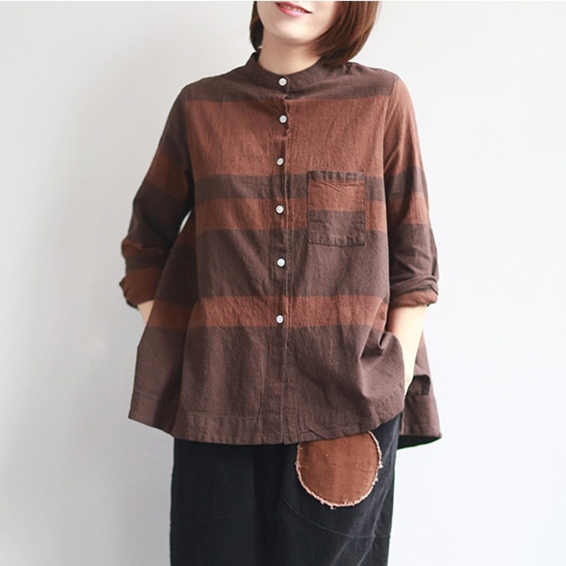Women's Clothing Women Tops Summer 2019 Oriental Blouse Spring Chinese Style Shirt Peasant Womens Tops And Blouses Japanese Streetwear Ta1186